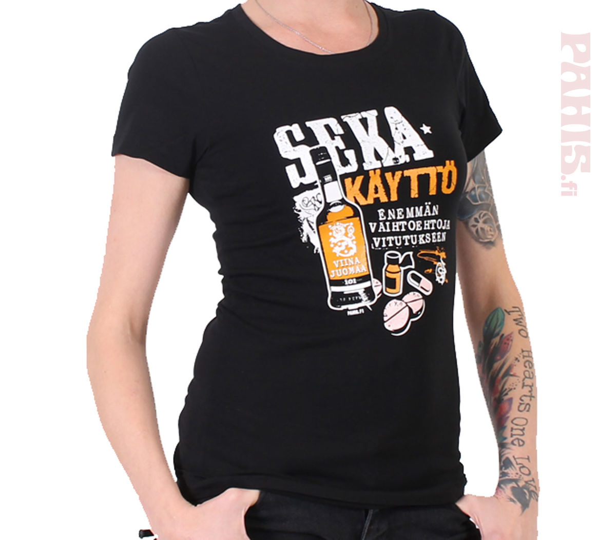 ... Naisten huumori T-paidat ... e26b250a2e