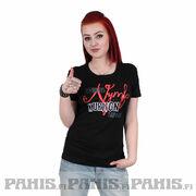 Kuriton Nymfomaani Lady Fit T-paita a0538b9488